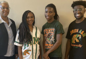 Three FAMU Students Awarded Scholarships For Winning Business and Auxiliary Services Essay Contest